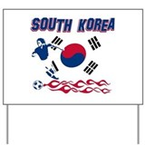 South Korean soccer Yard Sign