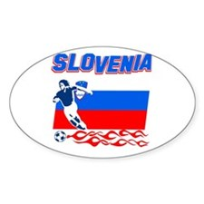 Slovenian Soccer Decal