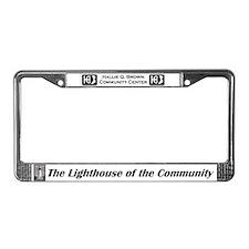 Unique Hallie License Plate Frame