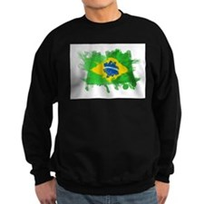 Brazil Flag Sweatshirt