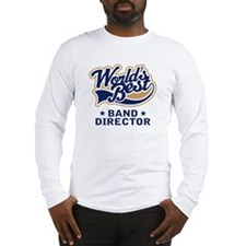 Tan Worlds Best Band Director Long Sleeve T-Shirt