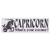 CAPRICORN (What's your excuse?)
