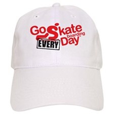 go skateboarding every day Baseball Cap
