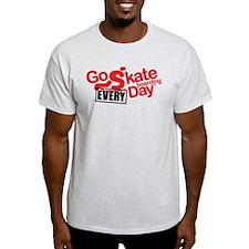 go skateboarding every day T-Shirt