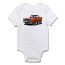 1967 Coronet Orange Car Infant Bodysuit