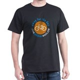 "Away For The Day ""On Yer Bike"" Black T-Shirt"