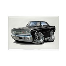 1967 Coronet Black Car Rectangle Magnet