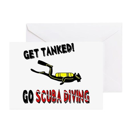 Get Tanked! Greeting Cards (Pk of 20)