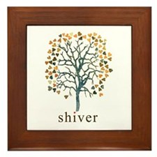 Shiver Tree Art Framed Tile