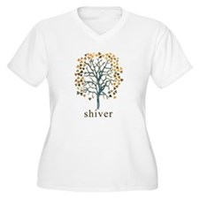 Shiver Tree Art T-Shirt