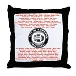 Compton Nostalgia Throw Pillow