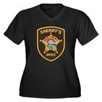 Polk County Sheriff Women's Plus Size V-Neck Dark