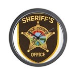 Polk County Sheriff Wall Clock