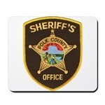 Polk County Sheriff Mousepad