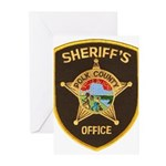 Polk County Sheriff Greeting Cards (Pk of 10)