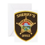 Polk County Sheriff Greeting Card