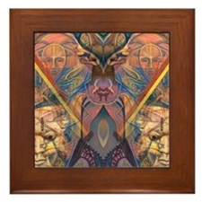 African Magic Framed Tile
