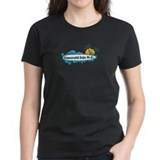 Emerald Isle NC - Surf Design Tee