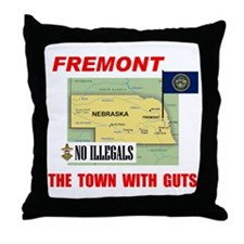WAY TO GO FREMONT - Throw Pillow