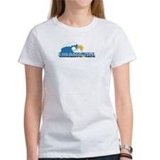 Emerald Isle NC - Waves Design Tee