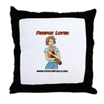 Firefox Lover Throw Pillow