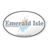 Emerald Isle NC - Seashells Design Decal