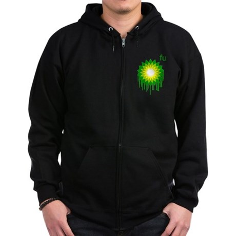 Fuck You BP Zip Dark Hoodie