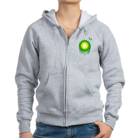 Fuck You BP Womens Zip Hoodie