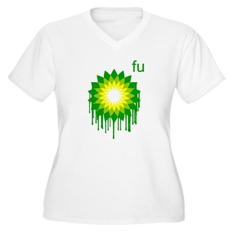 Fuck You BP Plus Size V-Neck Shirt