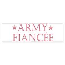 Army Fiancee - Stars Bumper Bumper Sticker