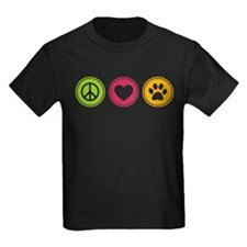 Peace - Love - Dogs T