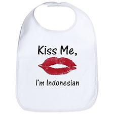 Kiss me, I'm Indonesian Bib