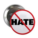 No Hate-Circle Slash 2.25&quot; Button