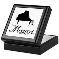 Piano Mozart Keepsake Box