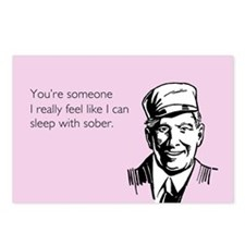 Sleep With Sober Postcards (Package of 8)
