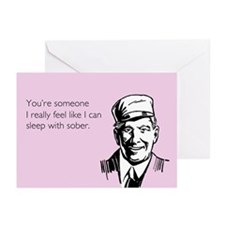 Sleep With Sober Greeting Cards (Pk of 20)