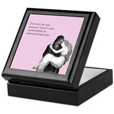 Must Be Love Keepsake Box