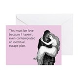 Must Be Love Greeting Card