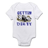 Gettin Dirty - Dirt Modified Infant Bodysuit