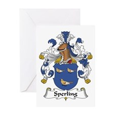 Sperling [German] Greeting Card