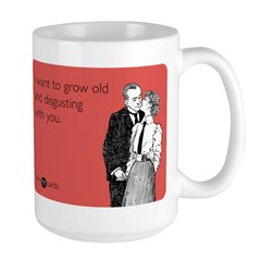 Grow Old Large Mug