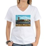 Hody's Drive-In Women's V-Neck T-Shirt