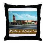 Hody's Drive-In Throw Pillow