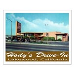 Hody's Drive-In Small Poster