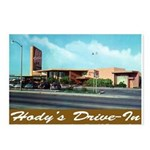 Hody's Drive-In Postcards (Package of 8)