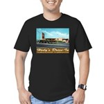 Hody's Drive-In Men's Fitted T-Shirt (dark)