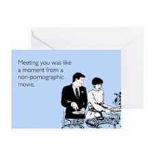 Meeting You Greeting Cards (Pk of 20)