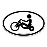 """Big Wheel"" - Oval Decal"
