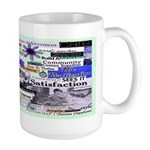 Survivor To Thriver Large Mug