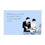 Meeting You Mini Poster Print